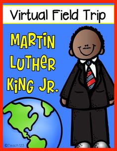 Martin Luther King Jr. - Virtual Field Trip plus FREEBIE | Teach123 3rd Grade Social Studies, Kindergarten Social Studies, Social Studies Activities, Teaching Social Studies, In Kindergarten, Cognitive Activities, Mlk Jr Day, Virtual Field Trips, School Holidays