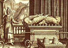 Cherubim in the ark of the covenant.Their role is to guard God's domain and presence from any sin and corruption.They are sometime known as the throne angels as they are seen around the throne of God. Solomons Temple, The Tabernacle, Sacred Art, The Covenant, Cherub, Ark, Gods Love, Archaeology, Bees