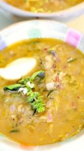 Vegan Zucchini & Lentil Soup Recipe @ www.Love-Fed.com