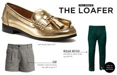 5 Footwear Styles to Get You Through Fall and Winter: The Loafer
