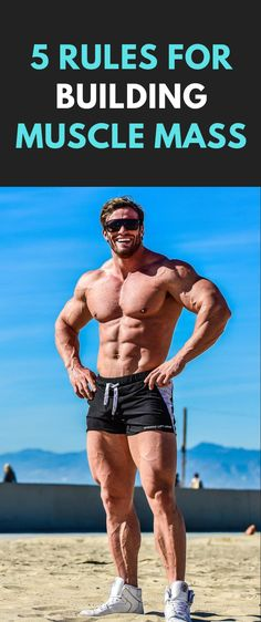5 Rules for Building Muscle Mass - Sandra Z. Bodybuilding Quotes, Bodybuilding Workouts, Bodybuilding Motivation, Build Muscle Mass, Gain Muscle, Muscle Men, Weight Training, Weight Lifting, Aesthetics Bodybuilding