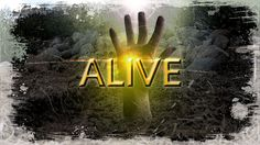 """Dead inside, but becoming ALIVE in Jesus Christ!  Designed this for """"THE AWAKENING"""" Youth Group for a message titled """"ALIVE"""""""