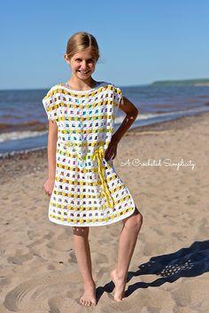 Ravelry: Sunny Days Beach Cover-Up pattern by Jennifer Pionk
