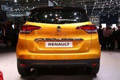 20 photos du nouveau Renault Scenic 4 au salon de Genève 2016