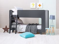 Scandi inspired Frankie bunk bed and accessories from Domayne.