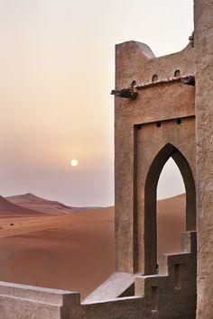 Qasr Al Sarab Desert Resort by Anantara, Abu Dhabi, United Arab Emirates Wrath And The Dawn, Desert Resort, Desert Life, Islamic Architecture, Architecture Board, Arabian Nights, Abu Dhabi, Beautiful Places, Beautiful Gifts