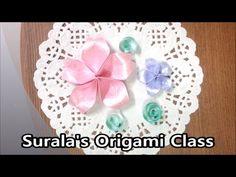 Origami - Cherry Blossom / 종이접기 - 벚꽃 (flower)