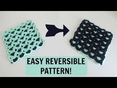 Reversible Crochet Pattern - YouTube