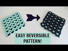 Reversible Crochet Pattern - Crocheting