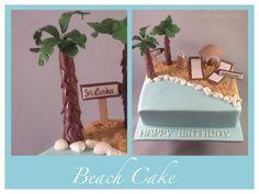 Hallo meine Lieben, heute möchte ich euch meine neuste Torte zeigen die das Thema Strand und Urlaub umfasst. Unter der Torte verbirgt sich ein Marmorkuchen. Für den Sand habe ich einfach Butterkeks...