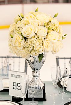 Pinning this for the table name....want to name the tables after hockey legends Keywords: #weddings #jevelweddingplanning Follow Us: www.jevelweddingplanning.com  www.facebook.com/jevelweddingplanning/