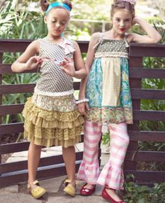 Baby & Toddler Clothing Matilda Jane Serendipity 6 Skirt Packing Of Nominated Brand