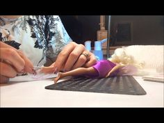 how to make barbie shoes out if uv gel