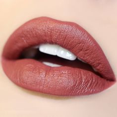 Frick Frack colourpop ultra satin lips $6  You be Frick and we'll be Frack and we'll both look good in this rosy terracotta.