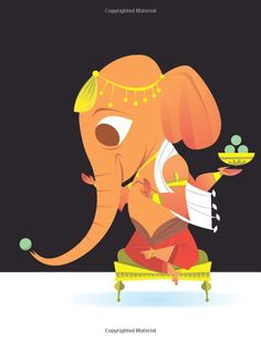 Ganesha, from 'The Little Book of Hindu Deities' by Sanjay Patel