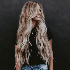 33 Hottest Blonde Balayage Highlights With Layers For Long Hair Design Ideas - Page 23 of 33 - Latest Fashion Trends For Woman Blonde Balayage Highlights, Brunette To Blonde, Grey Blonde, Pinterest Hair, Pretty Hairstyles, Long Hair Hairdos, Long Blonde Hairstyles, Simple Hairdos, Famous Hairstyles