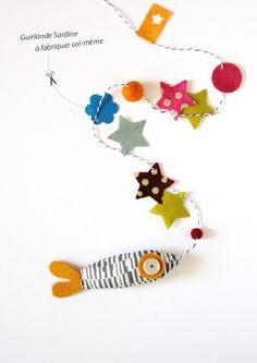 idea: sardine garland