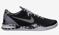 Nike Kobe 8 - Black / Metallic Silver - Cool Grey