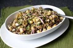 Can't wait to make this latest recipe from Smitten Kitchen...Lentil and Chickpea Salad. YUMM!!