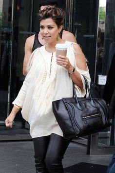 Kourtney Kardashian Celine Bag