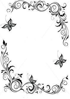 vector graphics swirls border - Google Search