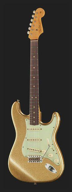 Fender LTD 1964 Strat Relic Gold Spkl - Thomann - #fender #gold #strat #stratocaster #beautiful #guitar #amazing