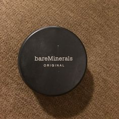 bare Minerals foundation lightly used Bare Minerals foundation! color:fair. Sanitized for buyer. Authentic brand. NO TRADES!! bareMinerals Makeup Foundation