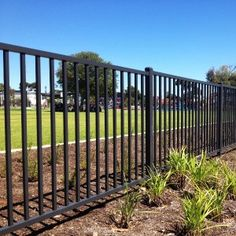 Black Metal Fence | Iron Fence | Black Steel Fencing