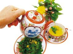 Bryg din egen te af friske urter fra haven | Køkkenhaven | Haven |