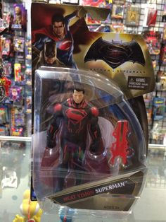 D.C Comics Batman vs Superman Heat Vision Superman Mattel