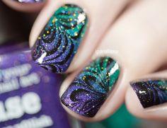 Have a nice weekend everyone Nail Art Designs, Fingernail Designs, Colorful Nail Designs, Great Nails, Fabulous Nails, Cute Nails, Ongles Bling Bling, Bling Nails, Funky Nails