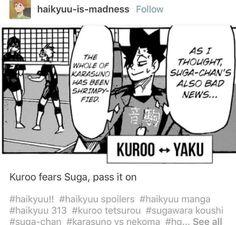Daisuga, Kuroo Tetsurou, Bokuaka, Kagehina, Haikyuu Manga, Haikyuu Funny, Haikyuu Fanart, Haikyuu Volleyball, Volleyball Anime
