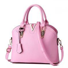 Cheap Elegant Women Simple Shoulder Bags Leather Messenger Bag Tote Purse Shell Handbag For Big Sale! Fashion Handbags, Purses And Handbags, Fashion Bags, Leather Handbags, Fashion Women, Stylish Handbags, Cheap Handbags, Leather Bags, Fashion Clothes