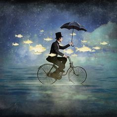 """""""Odds fish! What a peculiar thing to do of a night."""" 
