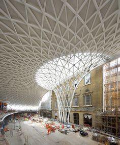 King's Cross Station, London designed by John McAslan + Partners
