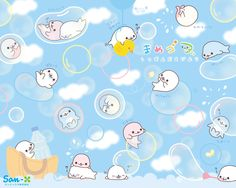 Mamegoma bubbles