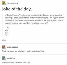 Literally Just 23 Great Jokes - Jokes - Funny memes - - What did the pirate say when he turned Aye matey. The post Literally Just 23 Great Jokes appeared first on Gag Dad. Funny Shit, Haha Funny, Funny Stuff, Random Stuff, Funny Things, Retro Humor, Excuse Moi, Funny Quotes, Funny Memes