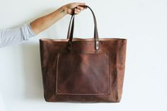 Stanley & Sons Leather Tote