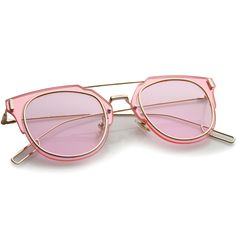 25a41d97b4 Pink Gold Pink Sunglasses Women