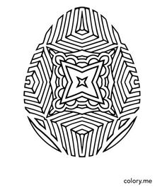 Adult coloring page from Colory App. 300+ coloring pages are available for coloring lovers. All in-app pages can be both colored in app or printed out to be colored on paper.