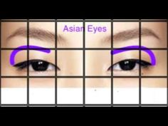 A beginner's guide to applying eyeshadow on different eye shapes. Focuses on deep set eyes, wide set eyes, down turned eyes, prominent or protruding eyes, ho. Wide Set Eyes, Deep Set Eyes, Protruding Eyes, Asian Eyes, How To Apply Eyeshadow, Eye Shapes, Eye Make Up, Hair Makeup, Youtube