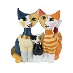 Pottery Animals, Disney Phone Wallpaper, Cat Decor, Vintage Cat, Cat Art, Folk Art, Kittens, Sculptures, Hand Painted