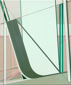 Frank Nitsche     ULF-38-2005  2005  Oil on canvas  47 x 39 cm via Max Hetzler Gallery
