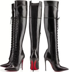 Jennifer Hudson with New Hairstyle and Louboutin Knee-High Boots