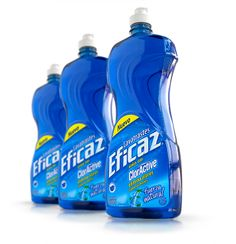 Eficaz® Dishwashing Liquid - AlEn > Brand Strategy, Brand Identity & Packaging Design 2003 Bottle Packaging, Soap Packaging, Cosmetic Packaging, Packaging Design, Detergent Bottles, Dish Detergent, Laundry Detergent, Eco Friendly Cleaning Products, Natural Cleaning Products