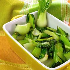 The delicate flavor of bok choy shines through in this simple recipe that needs just oil, garlic, and salt. Easy Bok Choy Recipes, Vegetable Recipes, Cooking Recipes, Healthy Recipes, Whole30 Recipes, Cooking Food, Cooking Ideas, Asian Recipes, Vegetable Side Dishes
