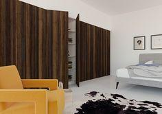 Nordus - Winter larch - natural - wood veneer - scandinavian design - interior trends - contemporary furniture idea - bedroom