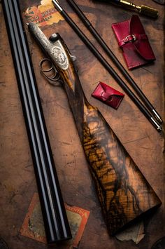 ~ Westley Richards 12g round action side lock, scroll engraved by Shaun Banks, cameos engraved by Peter Spode ~