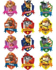 Free Paw Patrol Printables Together With Creative Paw Patrol Party Ideas Pretty My Party A Paw Patrol Free Printable Free Paw Patrol Birthday Party Printables Paw Patrol Badge, Paw Patrol Party, Paw Patrol Birthday, Paw Patrol Pinata, Paw Patrol Masks, Paw Patrol Stickers, Paw Patrol Clipart, Paw Patrol Pups, Imprimibles Paw Patrol