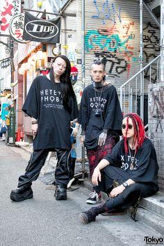 Heterophobia x Dog Harajuku Fashion w/ Juvenile Hall Rollcall, HOSOI & Demonia